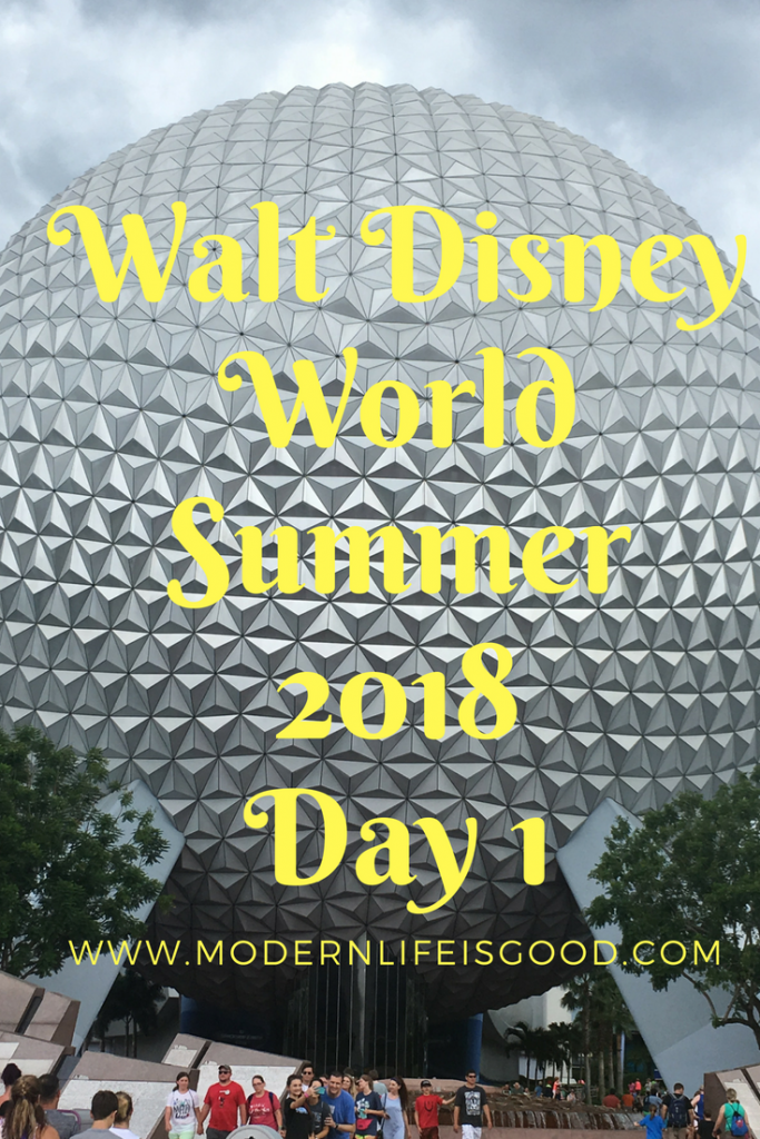 Summer 2018 Day 1 Disney Pete