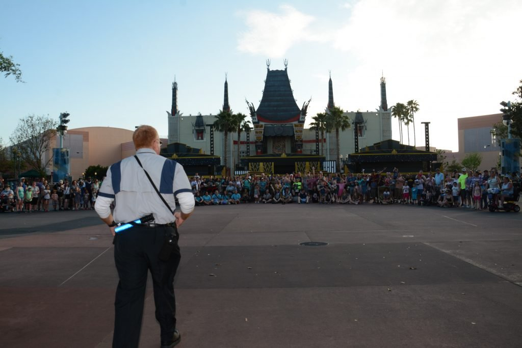 Walt Disney World Magical Moments Hollywood Studios Family Photo