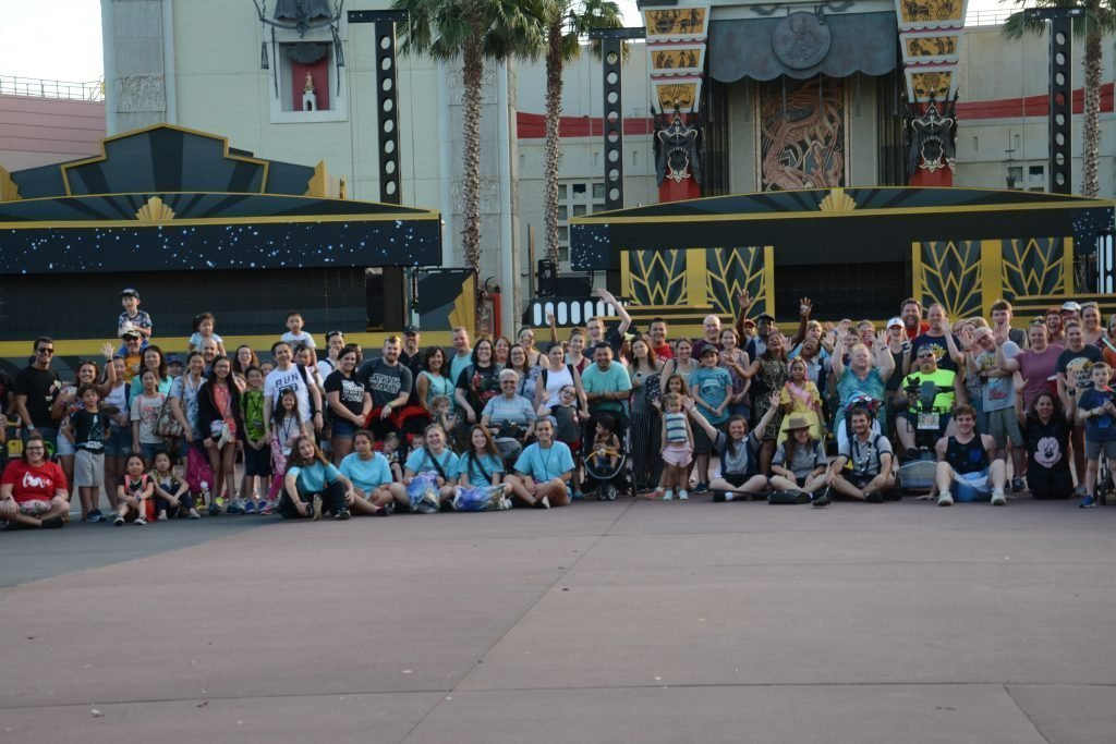 Hollywood Studios Family Photo Cast Member Fun Walt Disney World