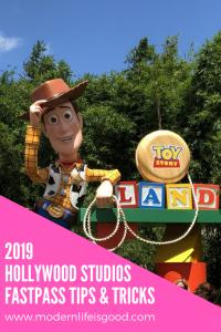 2019 Hollywood Studios Fastpass Strategy Walt Disney World