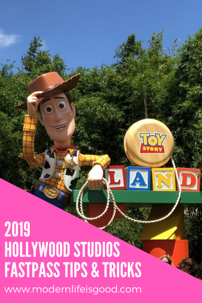2019 Hollywood Studios Fastpass Strategy Walt Disney World