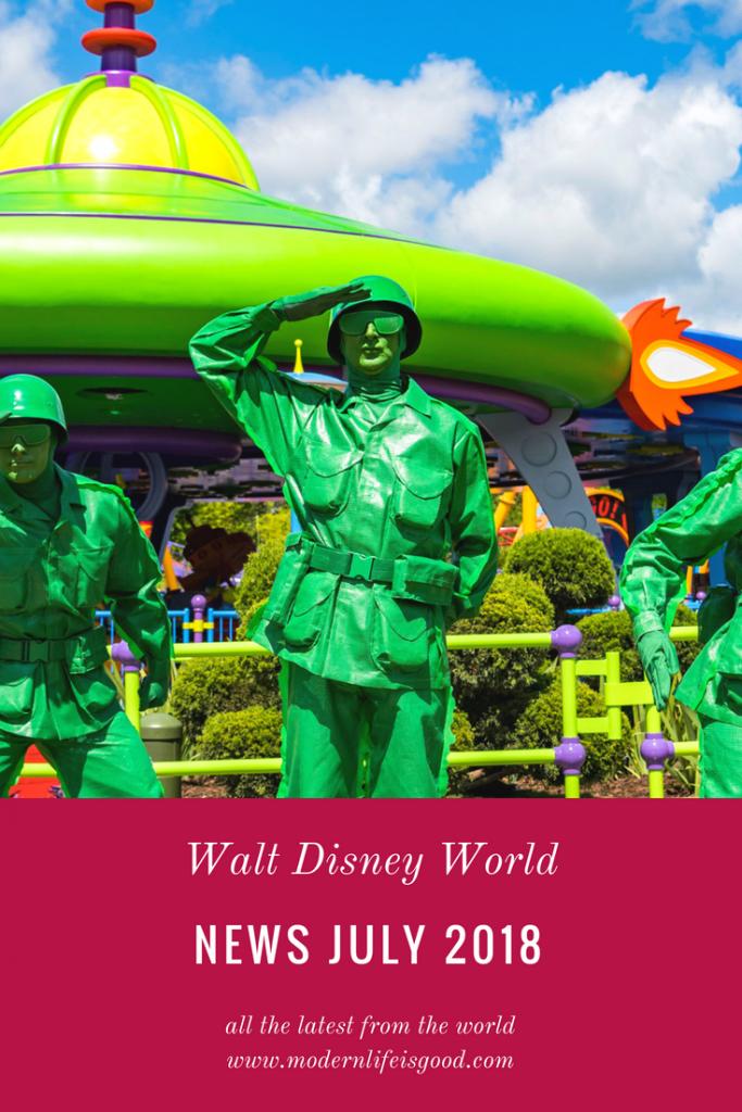 Walt Disney World July 2018 including Toy Story and & weddings at Animal Kingdom