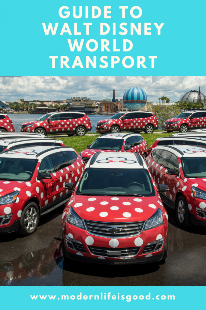 Guide to Walt Disney World Transport form Modern Life is Good