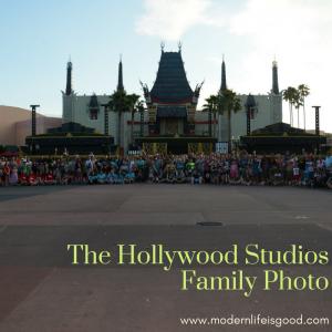 The Hollywood Studios Family Photo