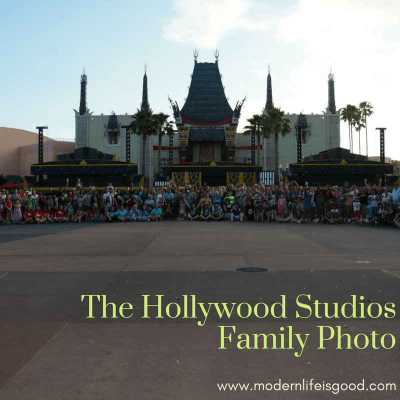 The Hollywood Studios Family Photo