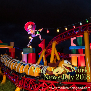 Walt Disney World News July 2018