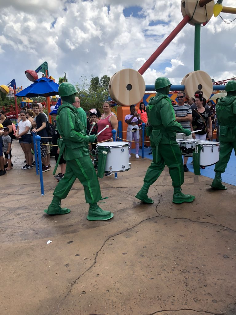 Green Army Men Hollywood Studios