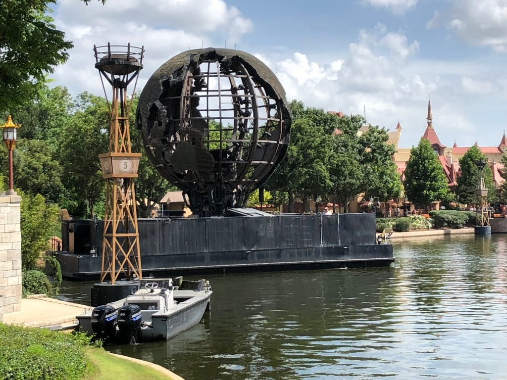 IllumiNations Barge Epcot