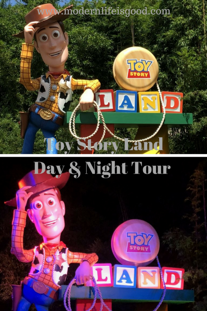 Join us as we take a Video Tour around Toy Story Land. Our Toy Story Land Day & Night Tour includes ride footage from all 3 attractions Slinky Dog Dash, Alien Swirling Saucers & Toy Story Mania.