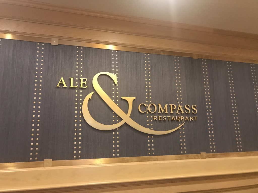 Ale & Compass Review Disney's Yacht Club