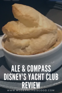 Ale & Compass Review at Disney's Yacht Club Resort