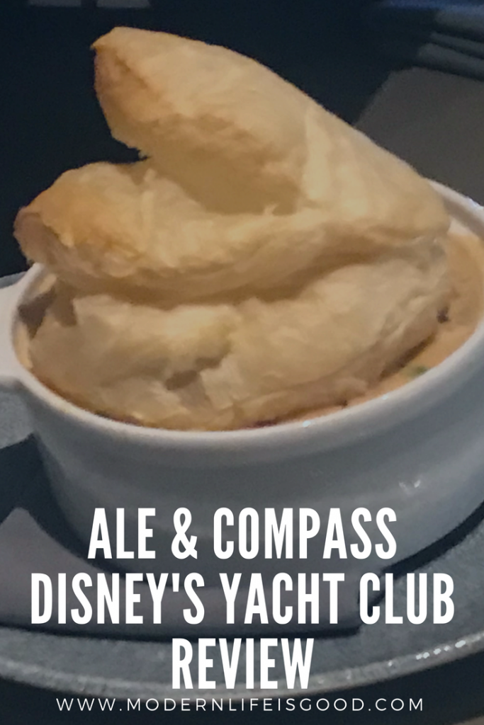 The Ale & Compass is one of the newest restaurants at Walt Disney World opening in November 2017. The restaurant is located in the Yacht Club in the space previously taken by Captain's Grille.