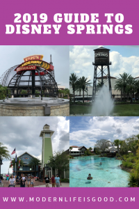 Our Guide to Disney Springs provides all the essential information to plan your day visiting the Disney World shopping, dining and entertainment center.