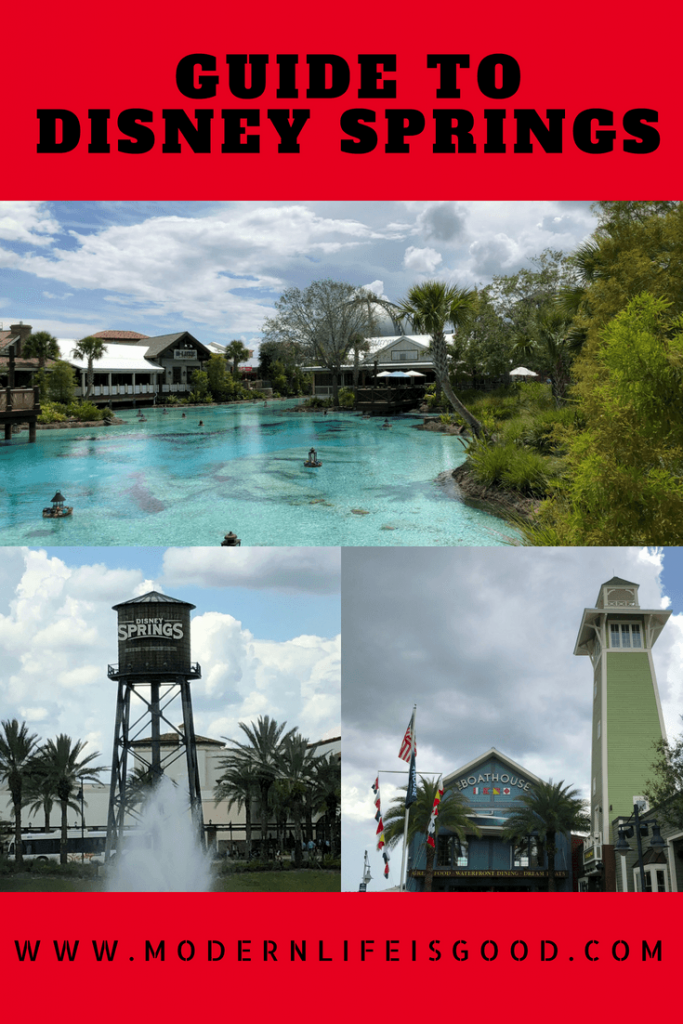 Our Guide to Disney Springs provides all the essential information to plan your day visiting the Walt Disney World shopping, dining and entertainment paradise.