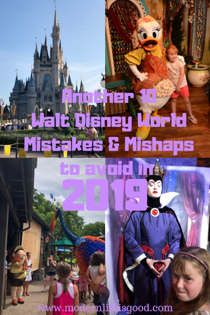 Here is Another 10 Disney World Mistakes To Avoid to have a great vacation.