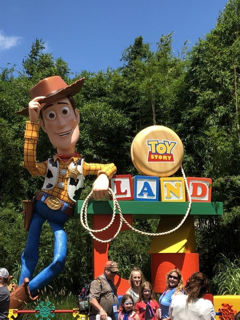 Toy Story Land Hollywood Studios 2019