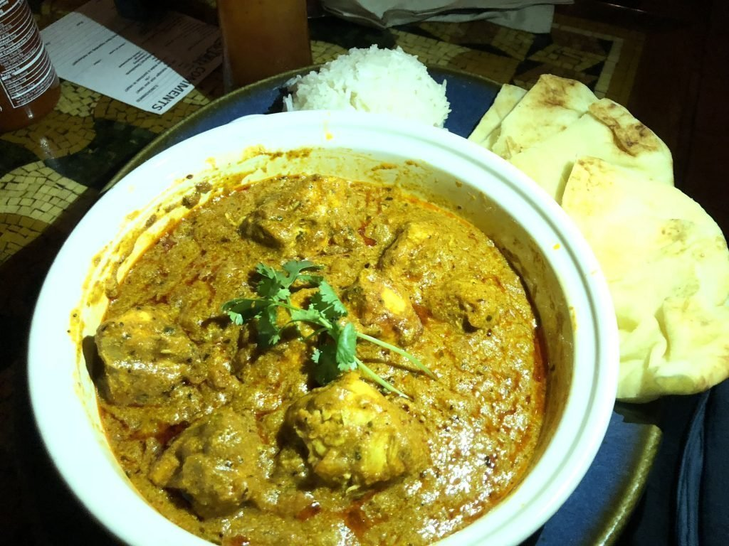 Chicken Tikka Masala at the Yak & Yeti
