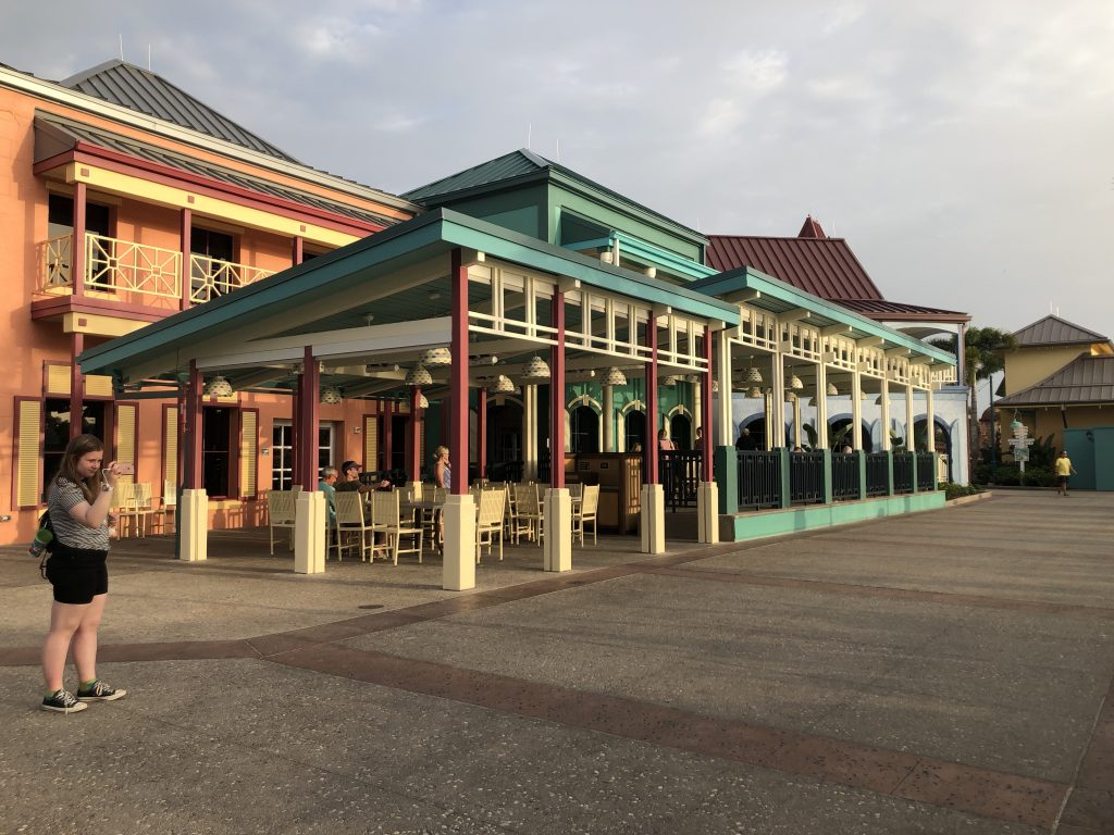 The recently renovated Disney's Caribbean Beach Resort
