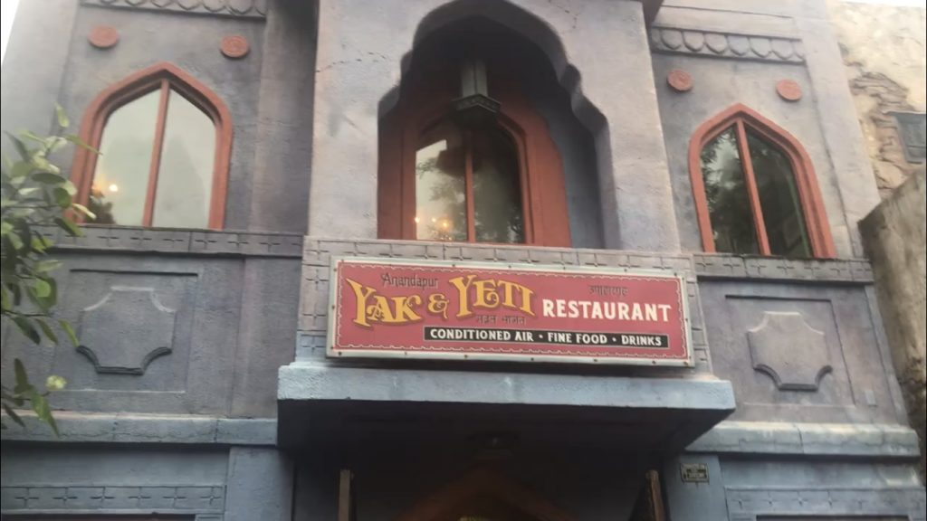 Yak & yeti at Animal Kingdom Disney World