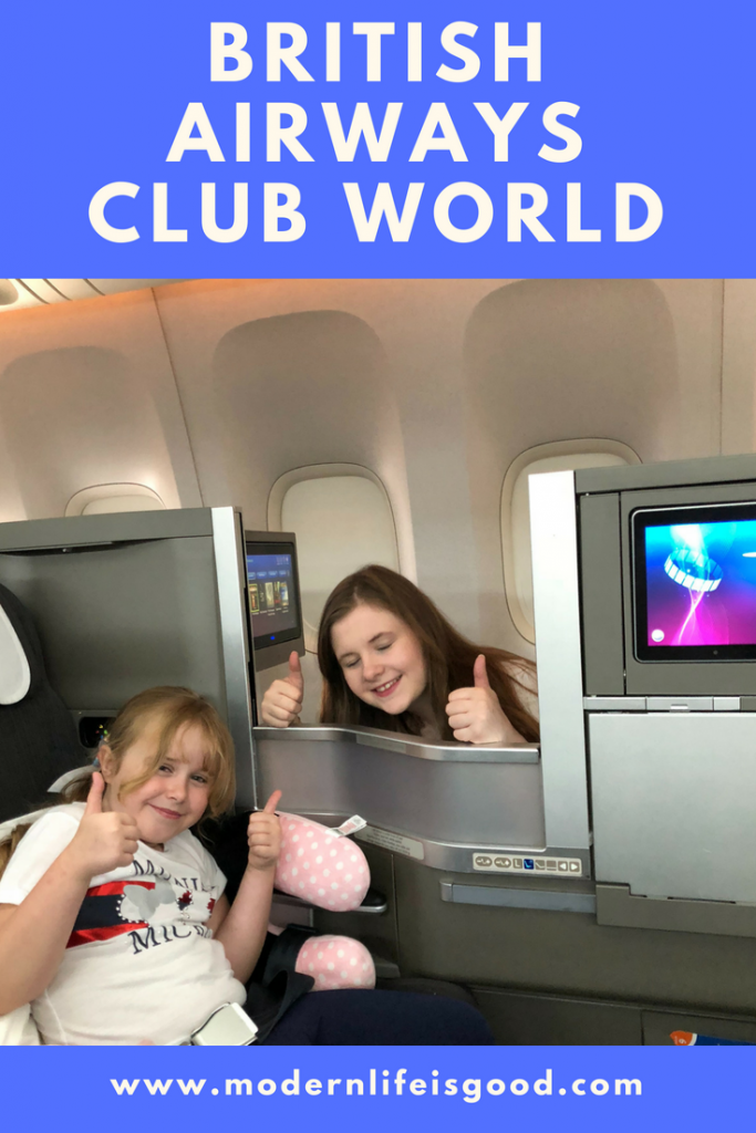Club World British Airways