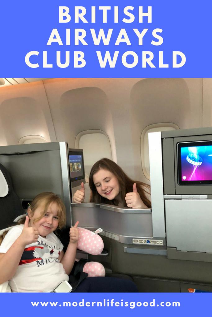 Club World British Airways
