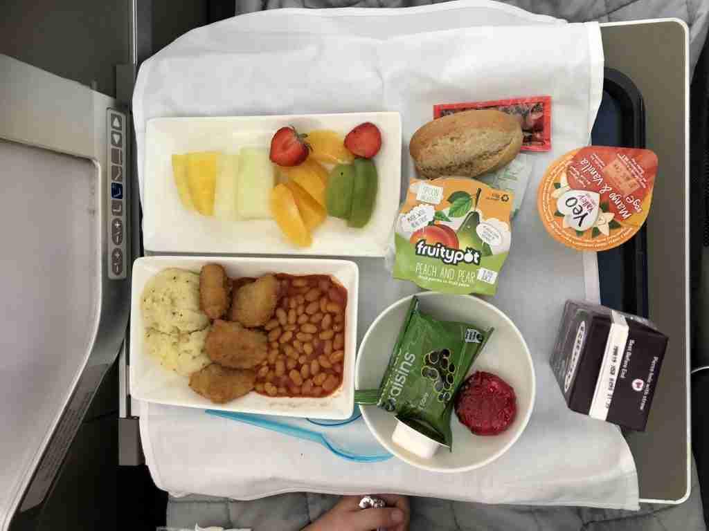 British Airways Club World Kid's Meal