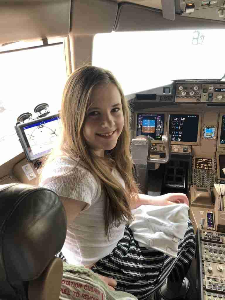 Cockpit BA 777