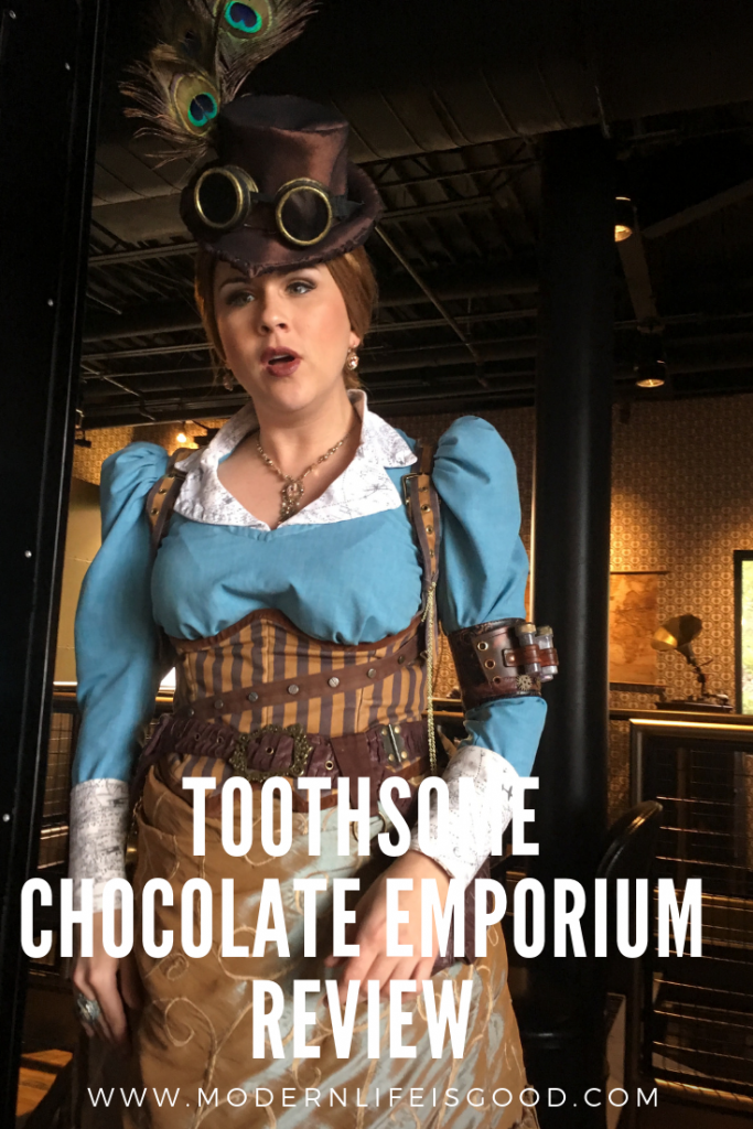 Toothsome Chocolate Emporium Review