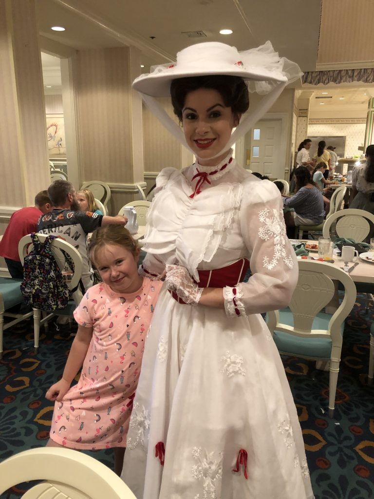 Mary Poppins at 1900 Park Fare