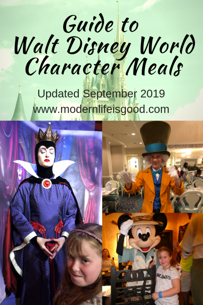 Our Guide to Walt Disney World Character meals was last updated during September 2019. The guide provides information on all the current Walt Disney World Character Meals, including helpful tips, tricks, and hacks.