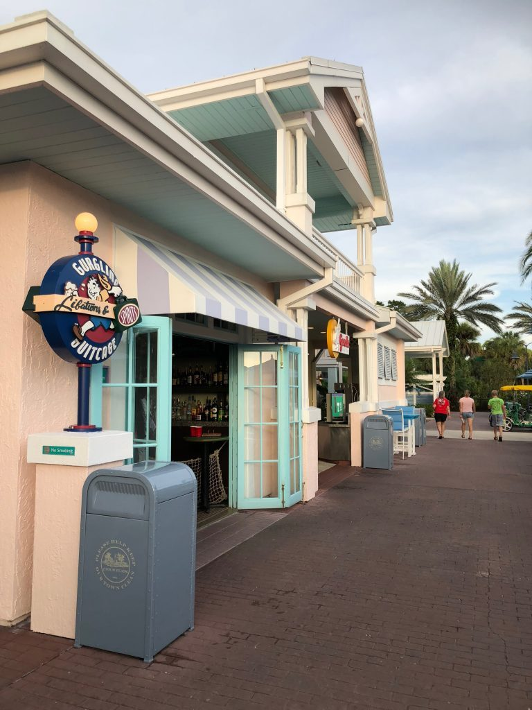 The Gurgling Suitcase at Disney's Old Key West Resort Walt Disney World