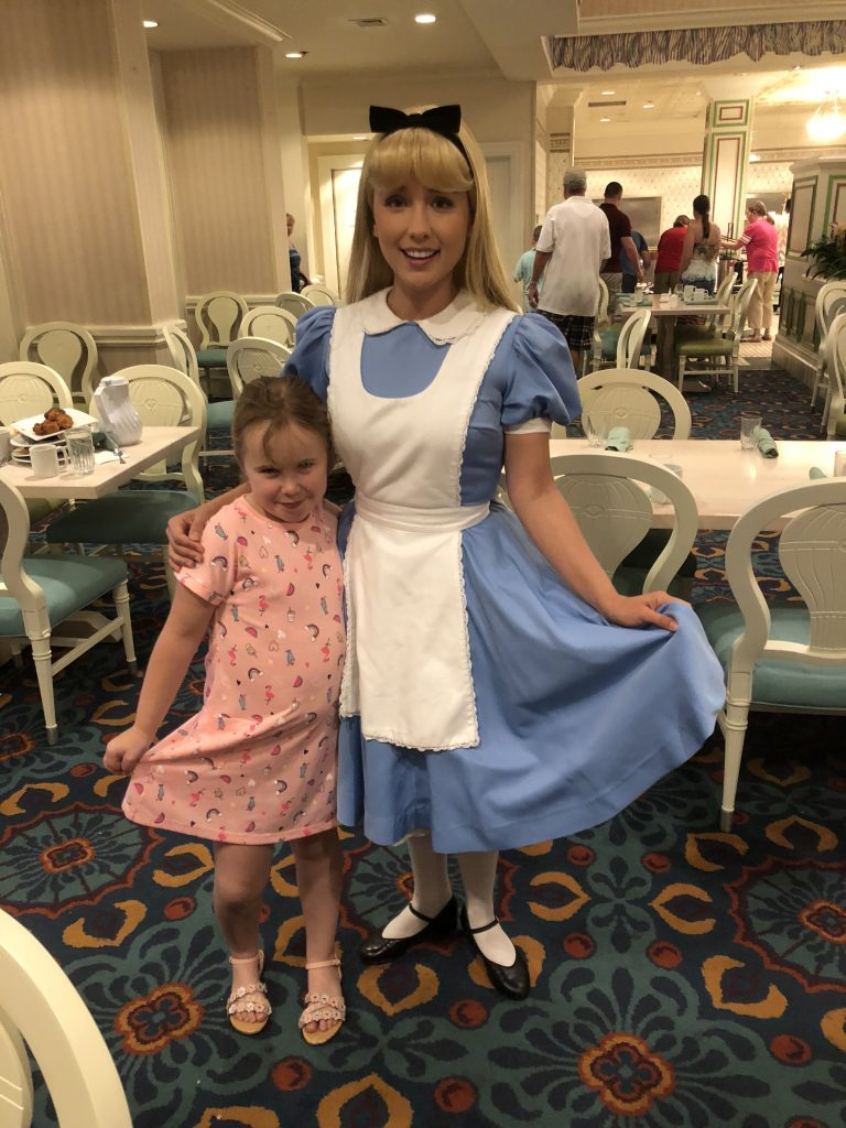 Supercalifragilistic Breakfast at 1900 Park Fare Review Alice in Wonderland