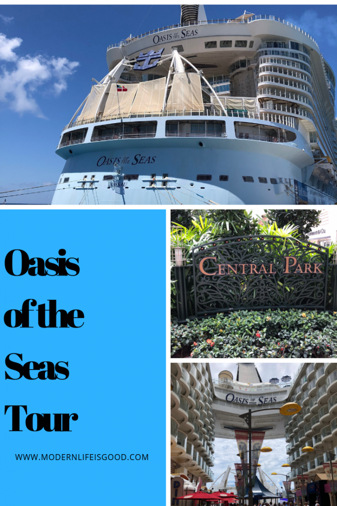 Oasis of the Seas Tour August 2018