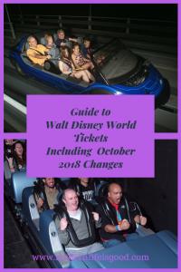Guide to Walt Disney World Tickets