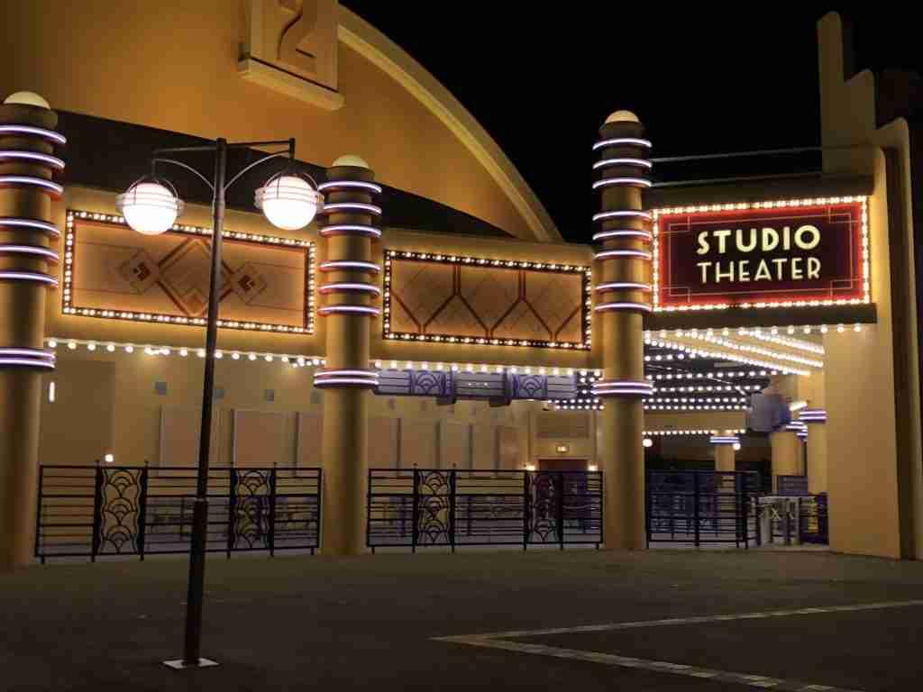 No guests in Walt Disney Studios Paris