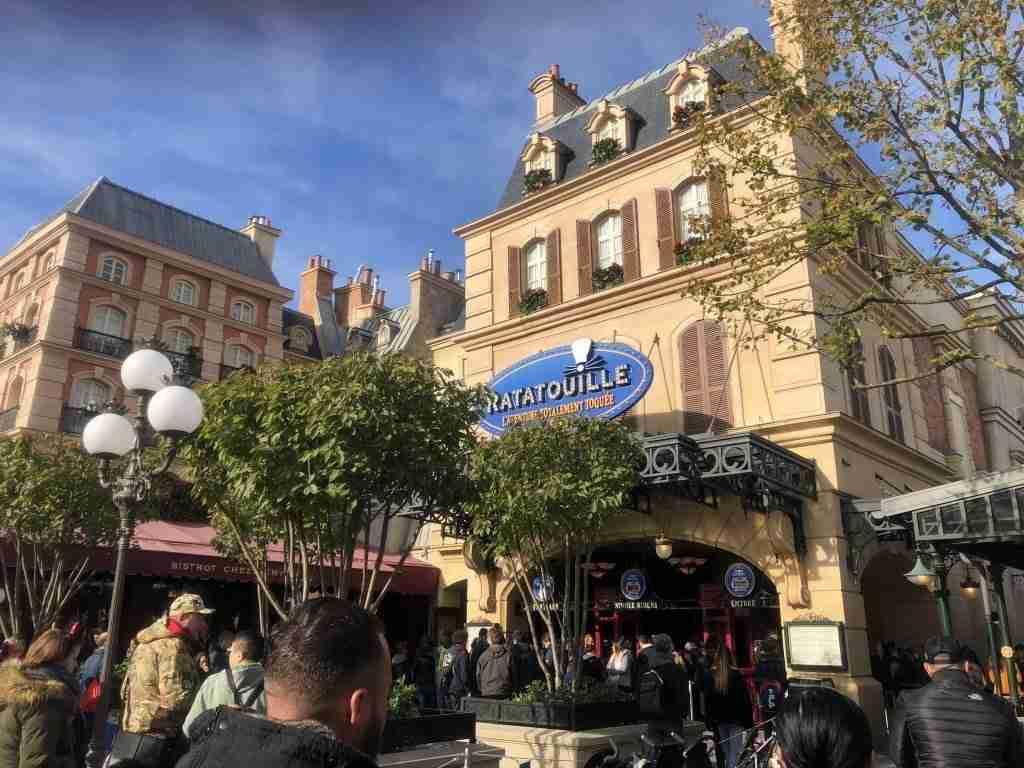 Ratatouille Walt Disney Studios Disneyland Paris
