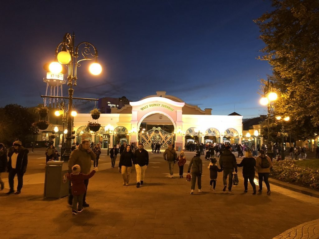 Walt Disney Studios Paris At night