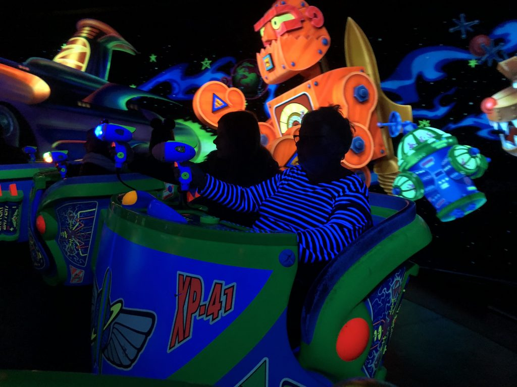 Buzz Lightyear Laser Blast at Disneyland Paris