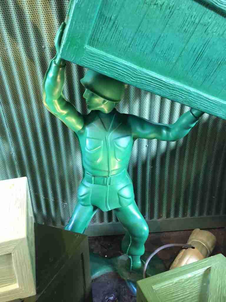 Green Army Man Disney Studios