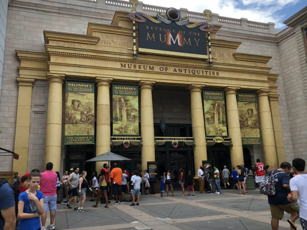 Revenge of the Mummy Guide to Universal Studios Florida