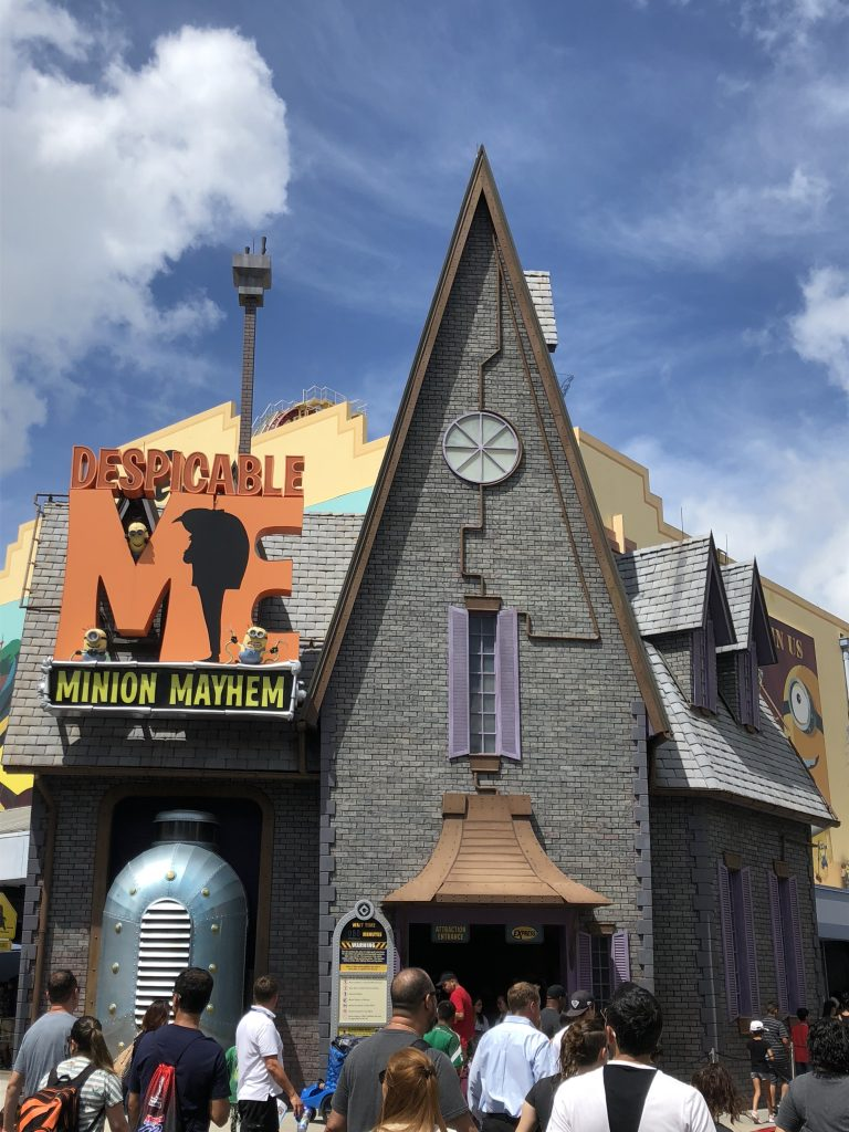 Despicable Me Minion Mayhem Universal Orlando