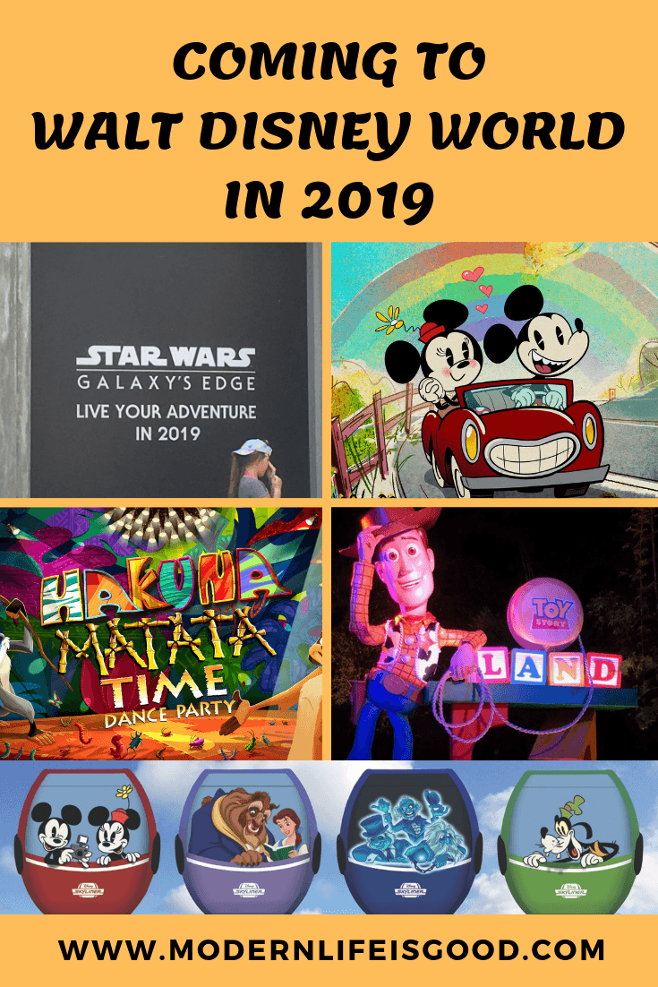 New at Walt Disney World in 2019 - Modern Life is Good