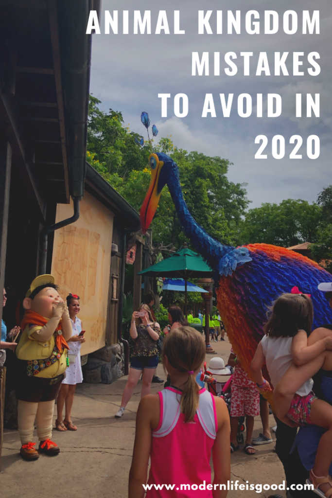 Disney's Animal Kingdom is growing and becoming more popular, so you must plan your day. We all make mistakes when on vacation, and these Animal Kingdom Mistakes, updated for 2020, can reduce the enjoyment of your holiday. However, with a bit of planning, you can easily avoid them and have a great vacation.