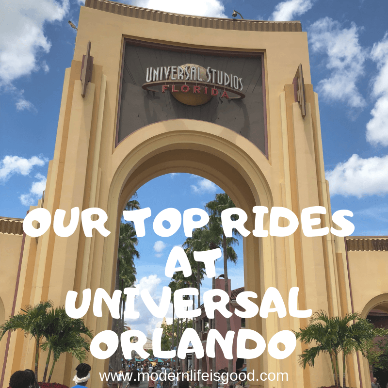Our Top Rides at Universal Orlando