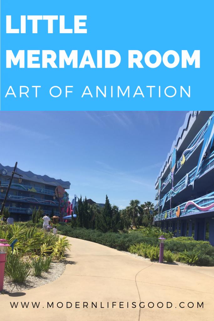 Little Mermaid Room Review at Disney Art of Animation Resort