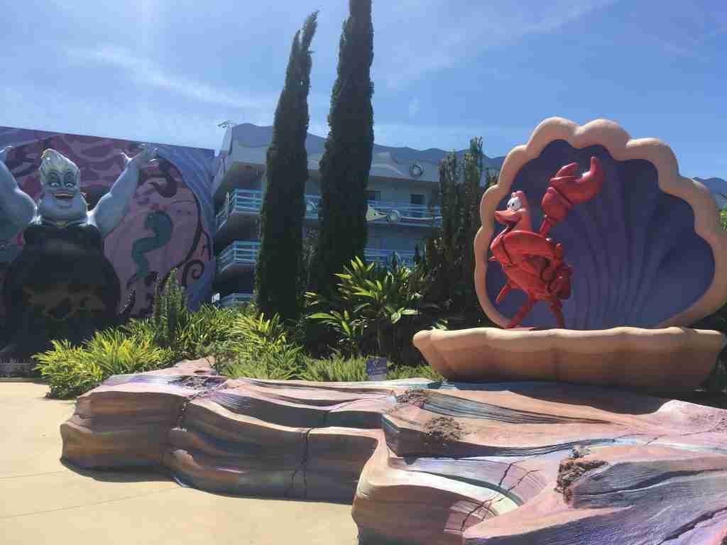 Little Mermaid Room Disney's Art of Animation Room Review