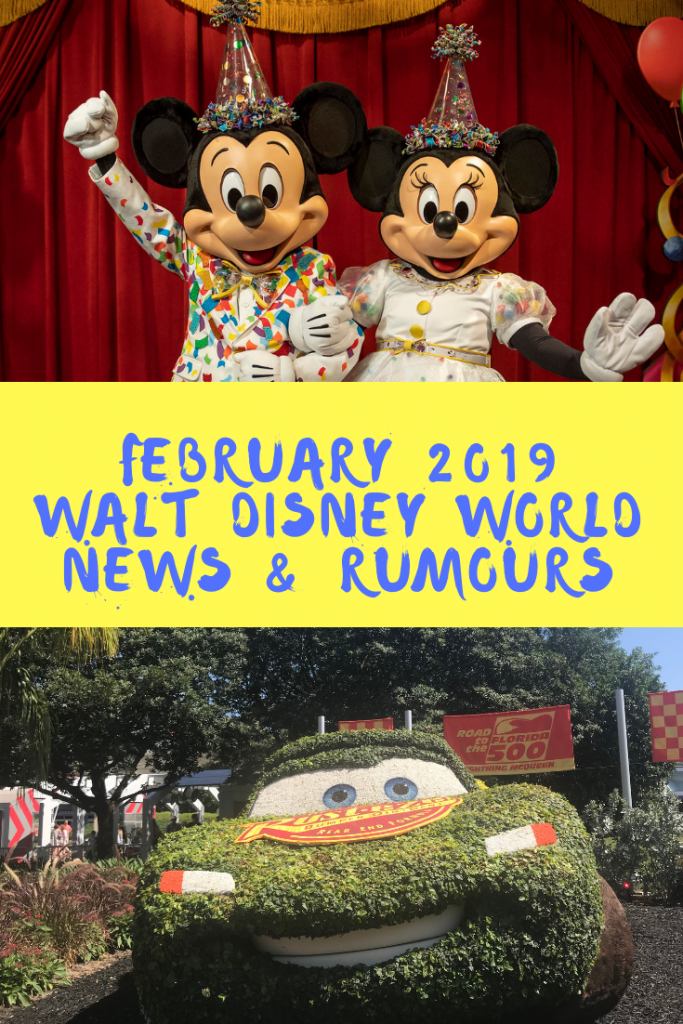 Our Walt Disney World News & Rumours February 2019 features smart speakers, Flower & Garden Festival, Disney's Riviera Resort, new character meets and more!