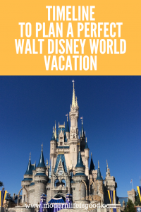 The preparation for a Disney World vacation starts long before your vacation begins. Our Walt Disney World Planning Timeline contains all the key dates to help you plan a perfect vacation.