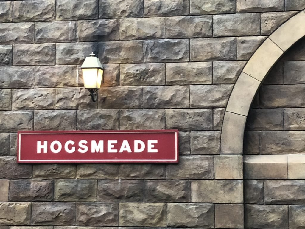 Hogsmeade Station islands of Adventure Harry Potter