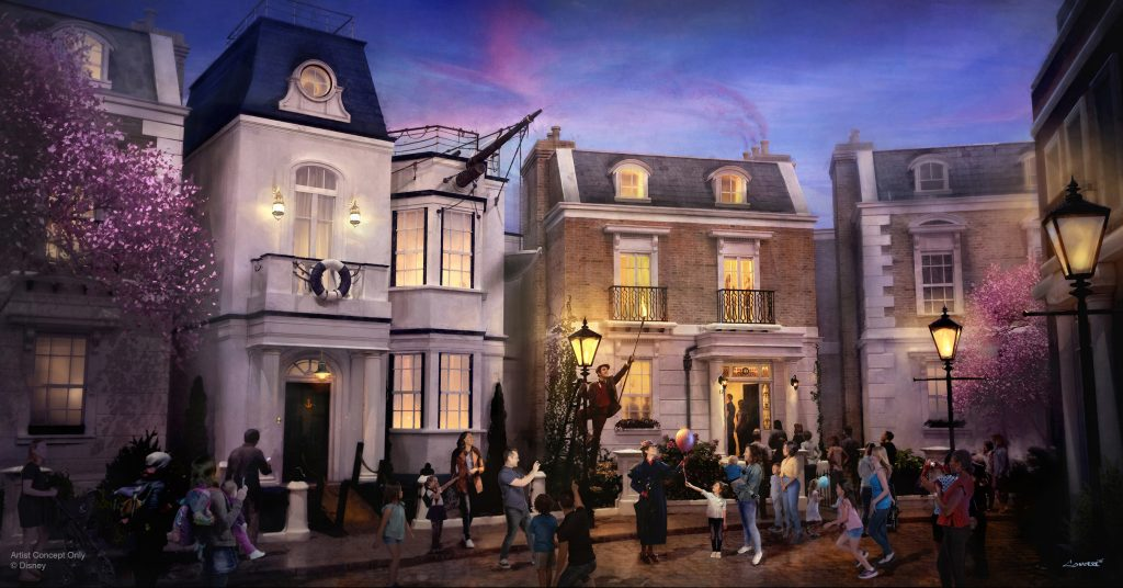 Epcot's new Mary Poppins attraction is off to Neverland